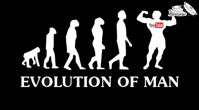 Evolution of men: YouTube channels